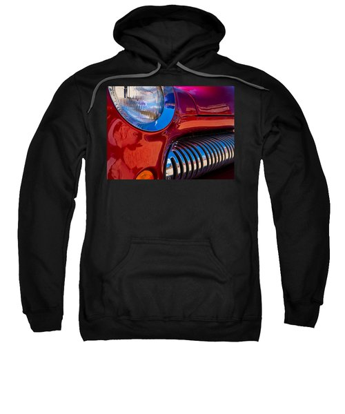 Red Car Chrome Grill Sweatshirt