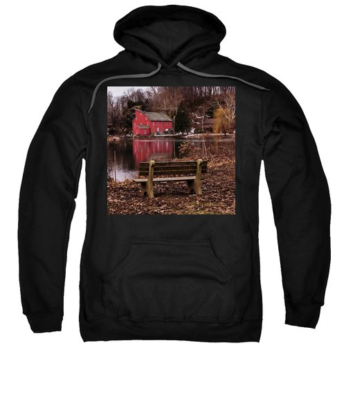Red Mill Reflection Clinton New Jersey Square Sweatshirt