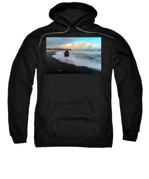 Reynisfjara Beach At Sunset Sweatshirt