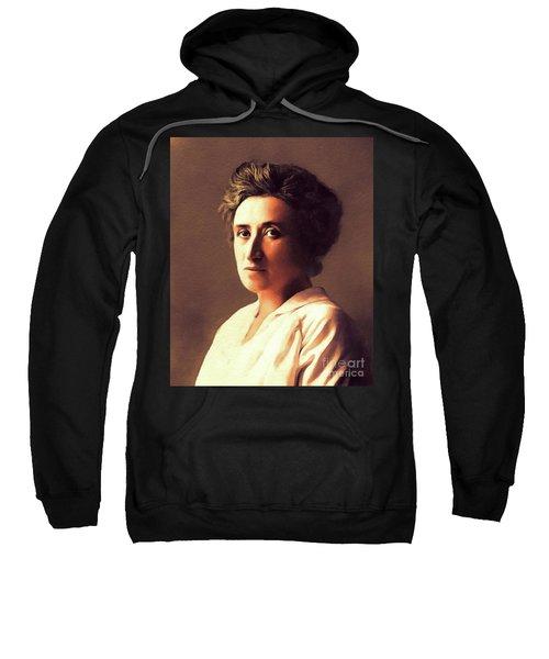 Rosa Luxemburg, Philosopher And Activist Sweatshirt