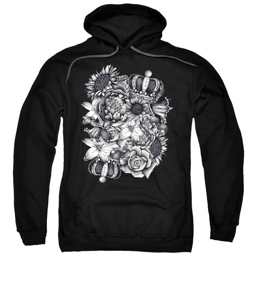 Royal Flowers Sweatshirt
