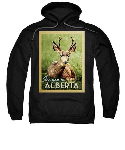 See You In Alberta Deer Sweatshirt