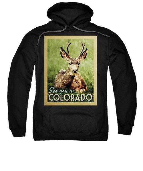 See You In Colorado Deer Sweatshirt
