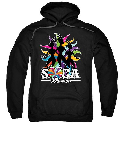 Soca Warrior Design Party Gift For Carnival Music And Wining Caribbean Reggae Dancehall Culture Wine And Grind Sweatshirt