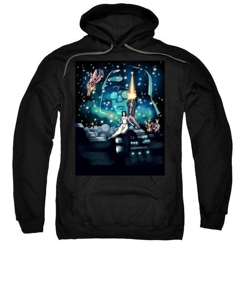 Spaceballs The Movie Poster Sweatshirt