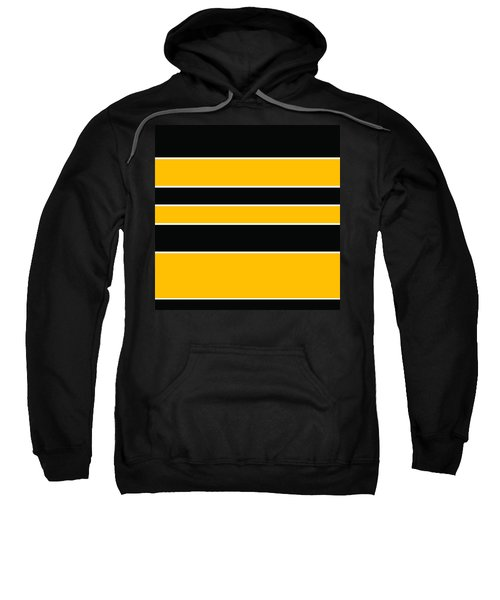 Stacked - Black And Yellow Sweatshirt