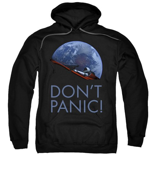 Starman Don't Panic In Orbit Sweatshirt