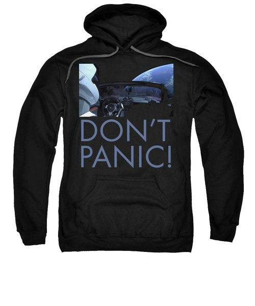 Starman Don't You Panic Now Sweatshirt