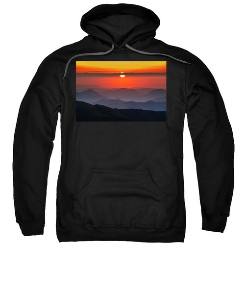 Sweatshirt featuring the photograph Sun Eye by Evgeni Dinev