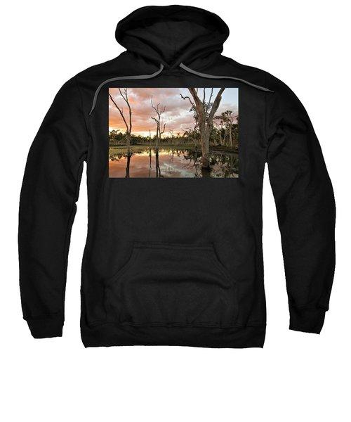 Sunset At Minnamoolka 3 Sweatshirt