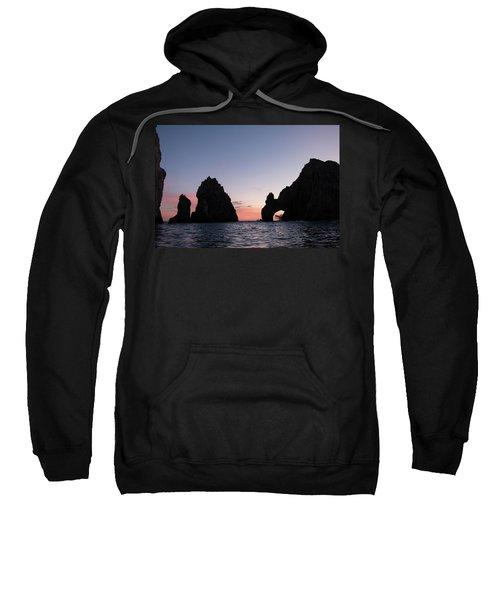 Sunset At The Arch Sweatshirt