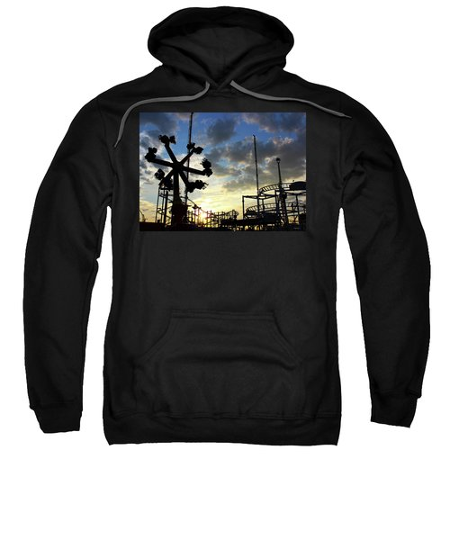 Sunset On Coney Island Sweatshirt