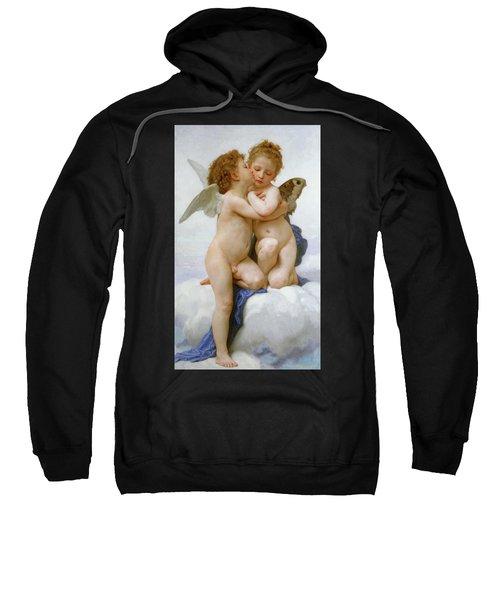 The First Kiss, 1890 Sweatshirt