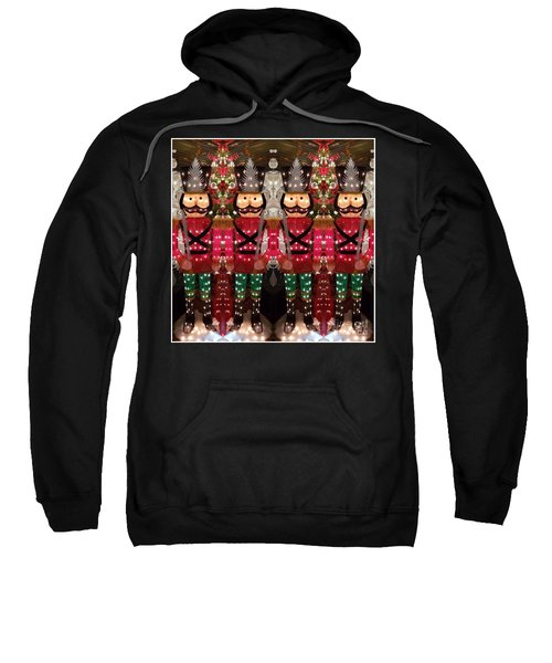 The March Of The Toy Soldiers Is On. Sweatshirt