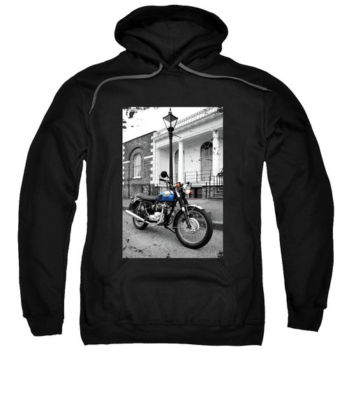 The T100r Daytona Classic Motorcycle Sweatshirt