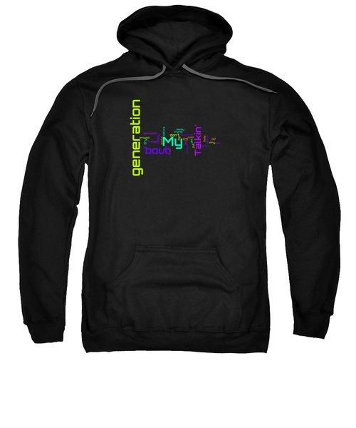 The Who - My Generation Lyrical Cloud Sweatshirt