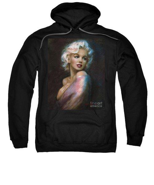 Theo's Marilyn Ww Blue Sweatshirt
