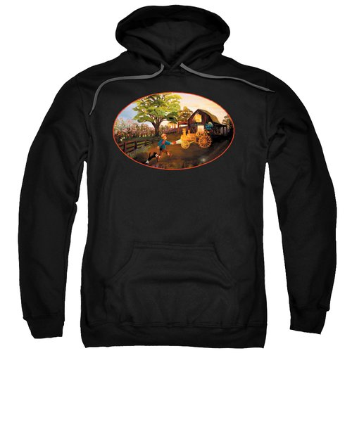 Tractor And Barn Sweatshirt