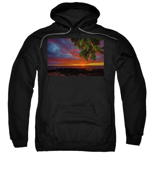 Tree  Sea And Sun Sweatshirt