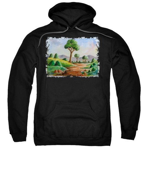 Trees And Flowers Sweatshirt