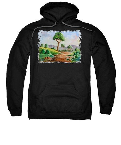 Trees And Flowers Sweatshirt