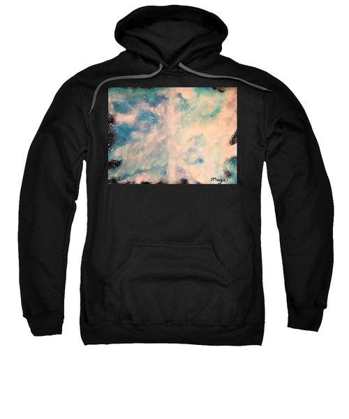 Turquoise Cosmic Cloud Sweatshirt