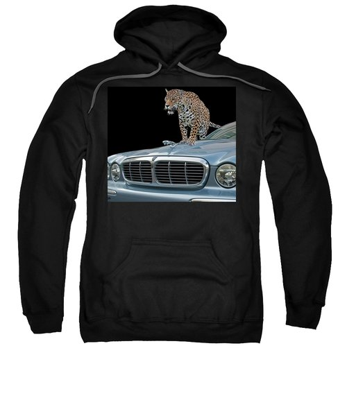 Two Jaguars 1 Sweatshirt