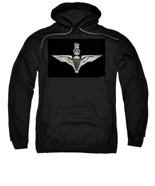 Uk Parachute Regiment Emblem Sweatshirt