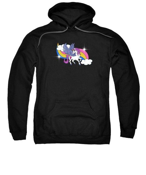 Unicorn With Wings Sweatshirt