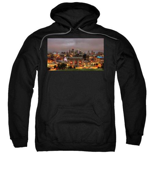 Union Station Sunrise 2 Kansas City Missouri Art  Sweatshirt