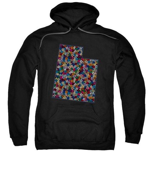 Utah Map - 2 Sweatshirt
