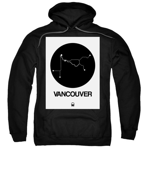 Vancouver Black Subway Map Sweatshirt