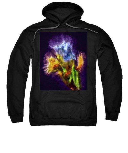 White Lily Bud #i0 Sweatshirt