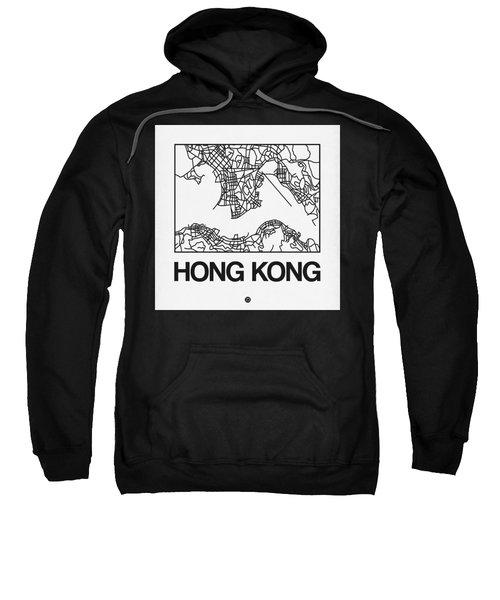 White Map Of Hong Kong Sweatshirt