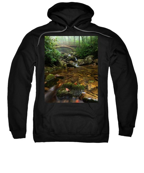 Wilson Creek Bridge Tanawha Trail - Blue Ridge Parkway Sweatshirt