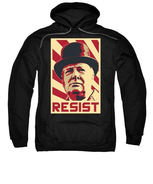 Winston Churchill Resist Sweatshirt