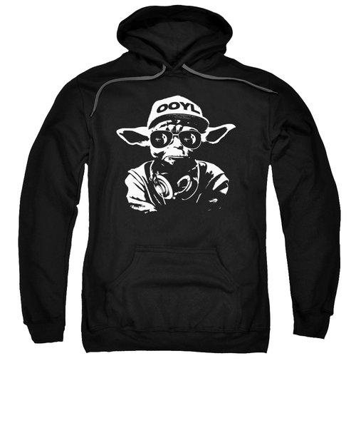 Yoda Parody - Only Once You Live Sweatshirt