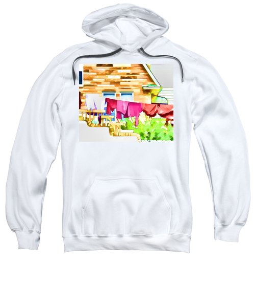 A Summer's Day - Digital Art Sweatshirt