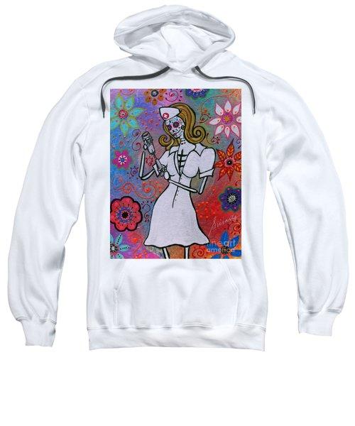 Dia De Los Muertos Nurse Sweatshirt