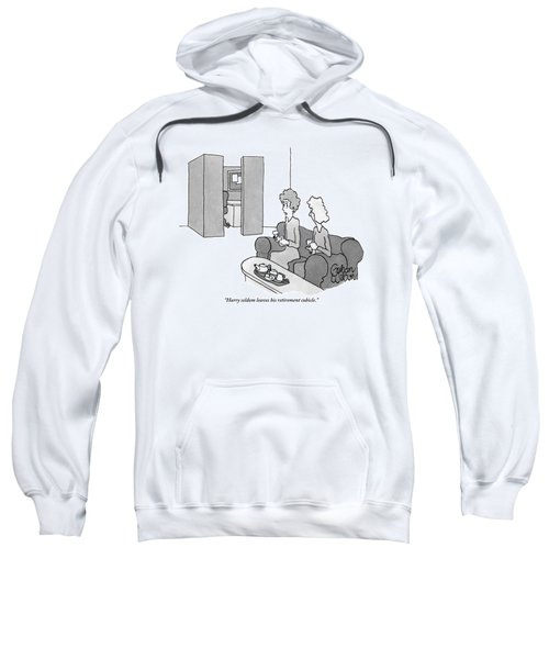 One Woman Says To Another While They Have Tea Sweatshirt
