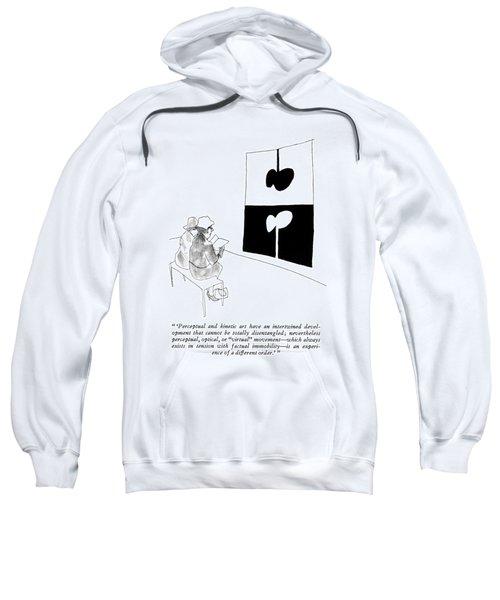 'perceptual And Kinetic Art Have An Intertwined Sweatshirt