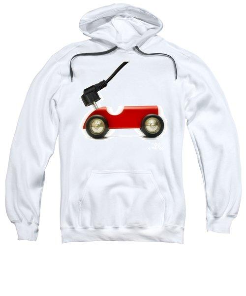 Symbolic Image Electric Car Sweatshirt