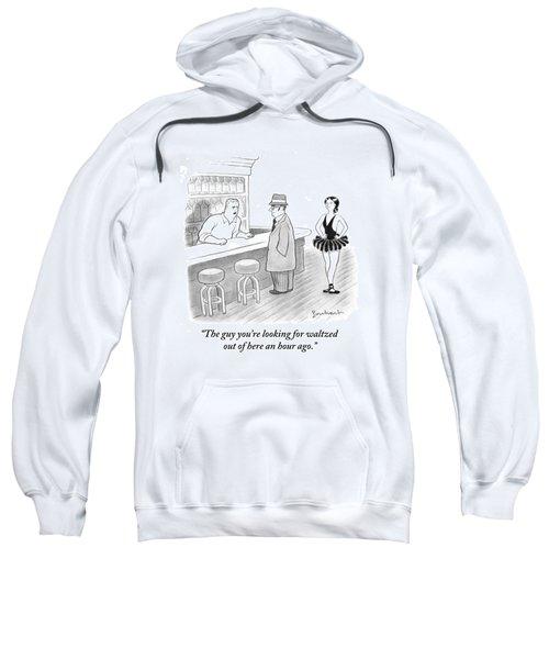 A Bartender Talks To A Member Of The Mafia Sweatshirt