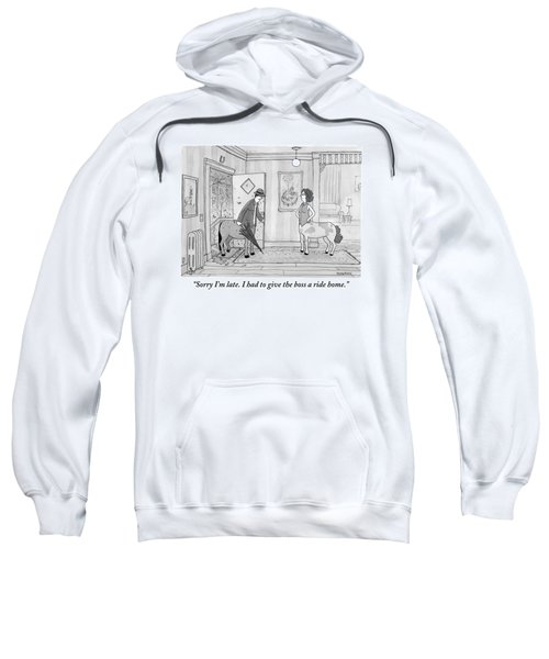 A Male Centaur Sweatshirt