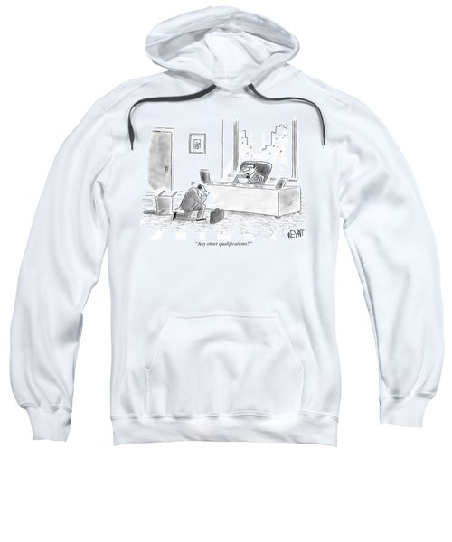 Any Other Qualifications Sweatshirt
