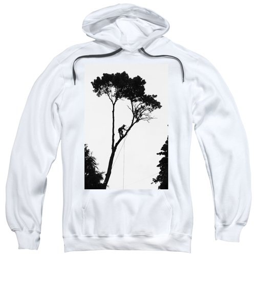 Arborist At Work Sweatshirt