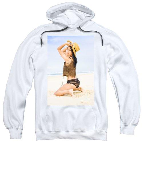 Beach Allure Sweatshirt
