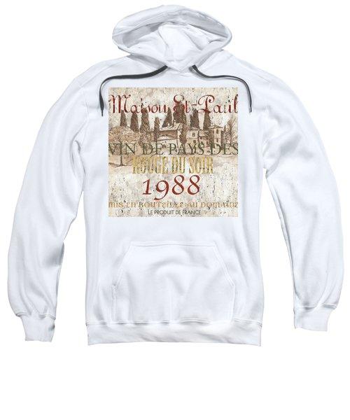 Bordeaux Blanc Label 1 Sweatshirt
