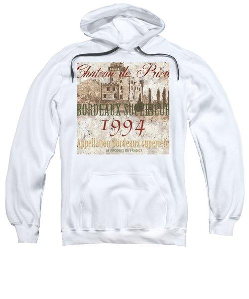 Bordeaux Blanc Label 2 Sweatshirt