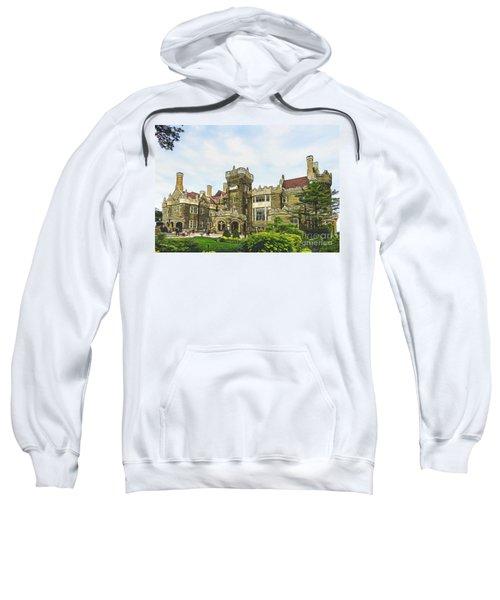 Casa Loma In Toronto Sweatshirt